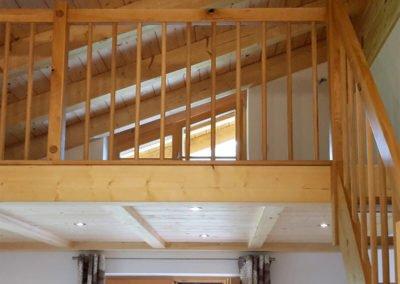 Innenausbau Holztreppe, Zwischendecke