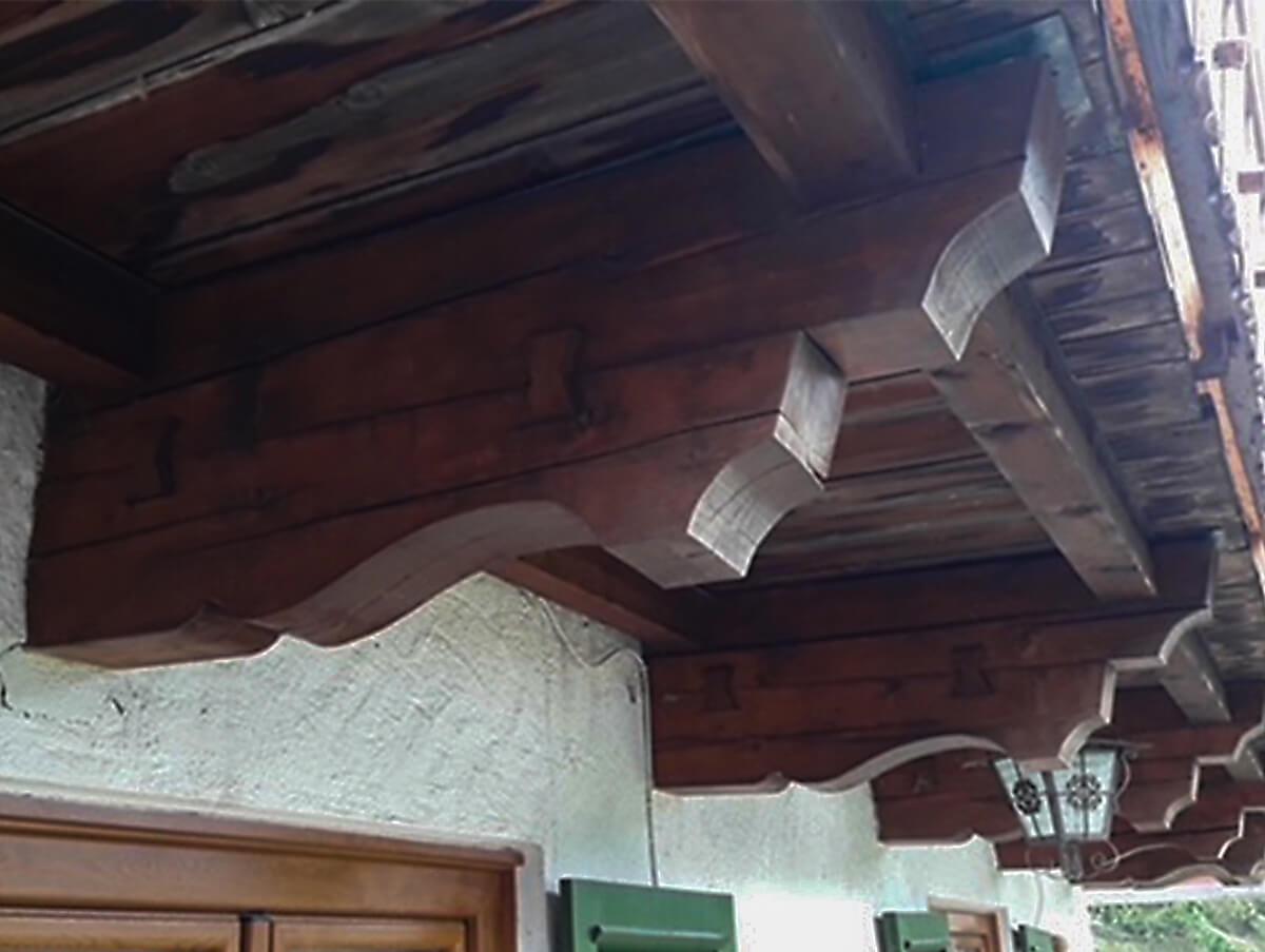 Trockeneisstrahlen Holzbau Hoiss