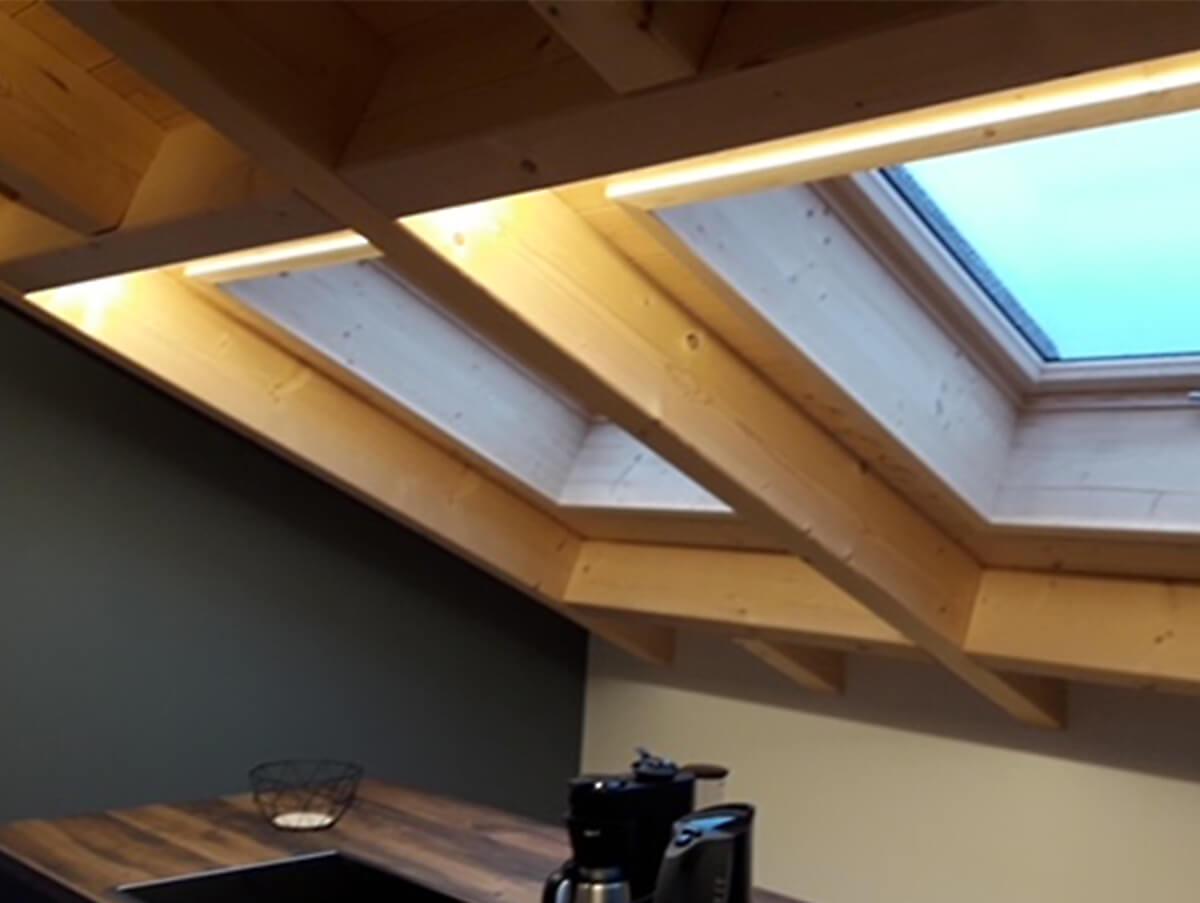 Holzbau Hoiss Dachfenster Einbau