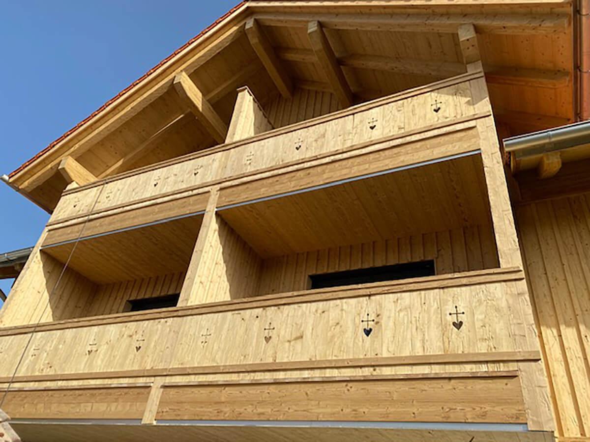 Holzbau Hoiss Balkone