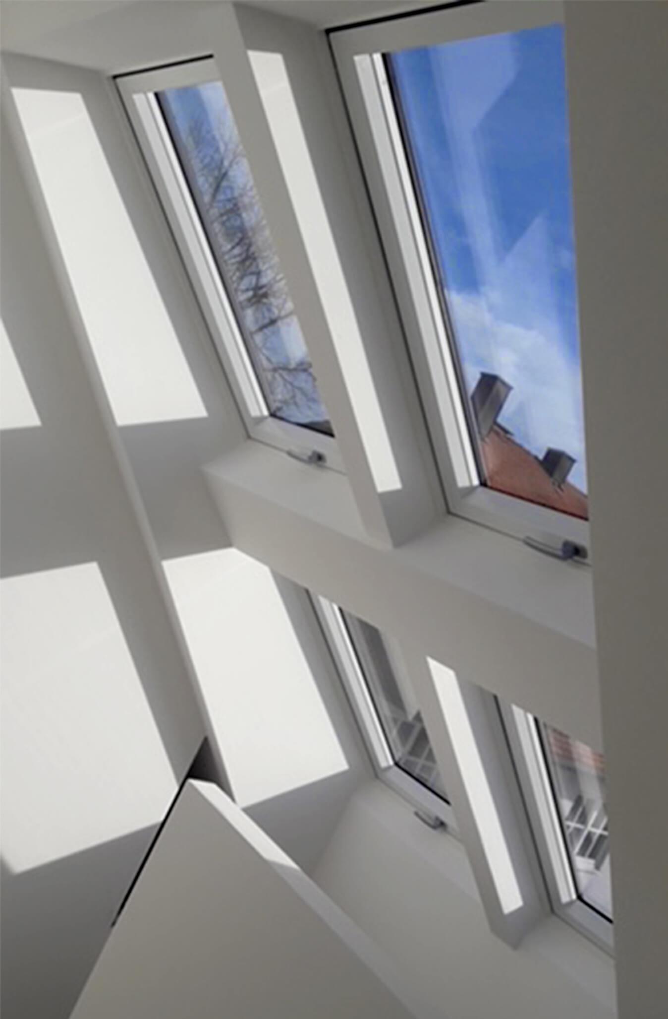 Dachfenster modern Holzbau Hoiss