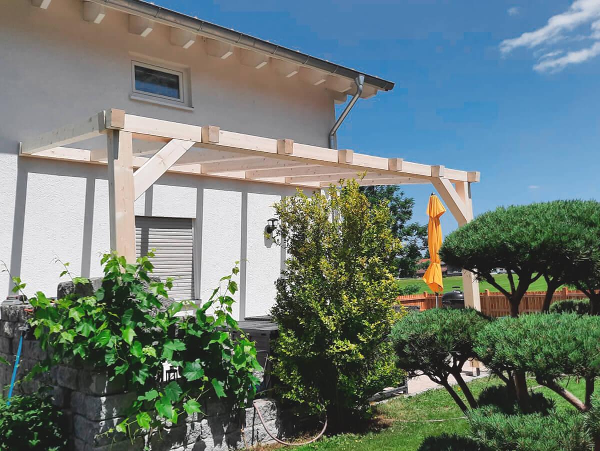 Holzbau Hoiss Terrasse