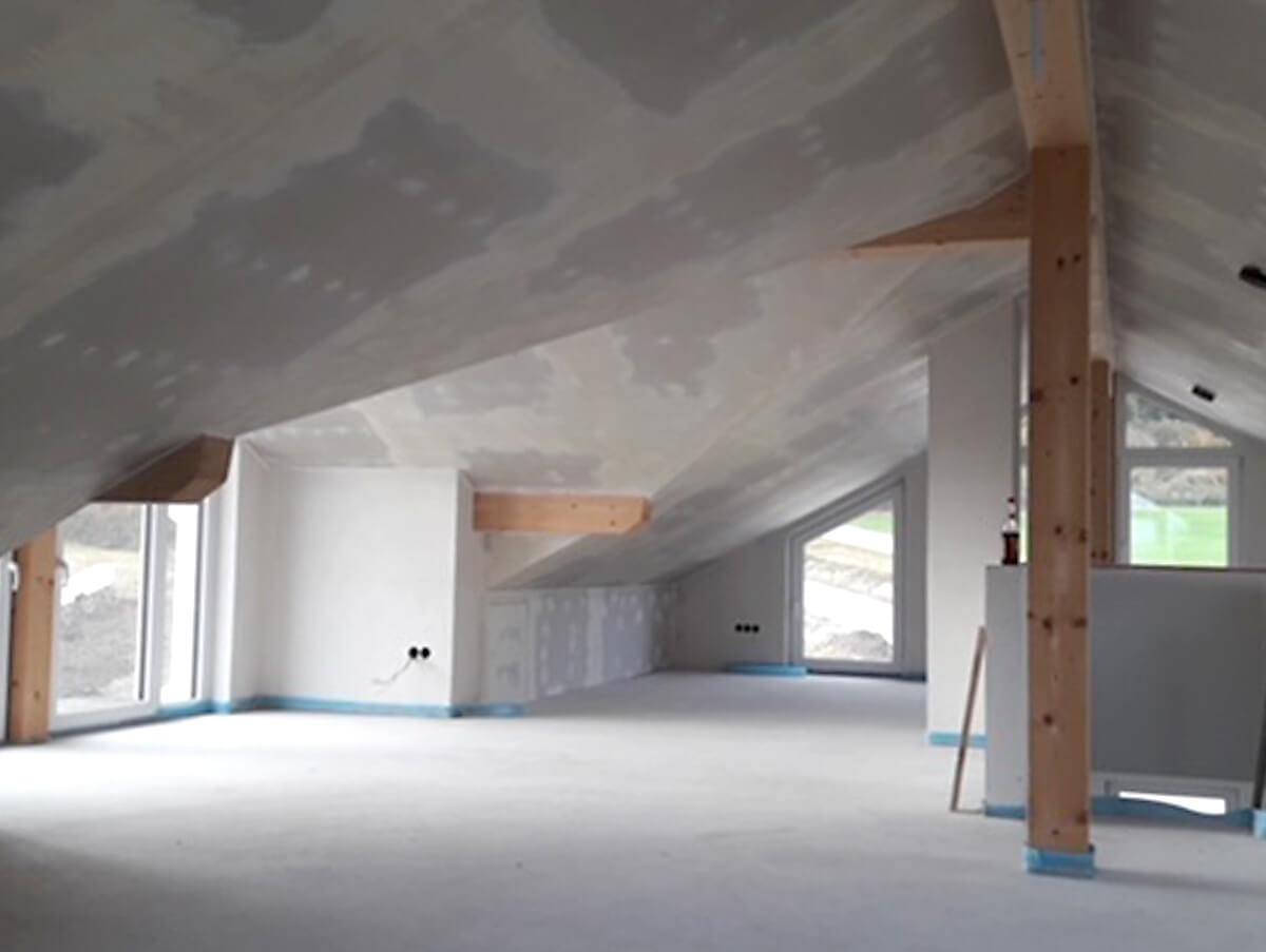 Dachgeschoss Ausbau Holzbau Hoiss